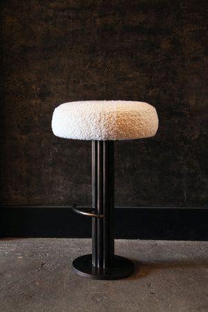 Custom Barstool Wh Ore Haus Studios In 2020 Bar Stools Furniture Backless Bar Stools