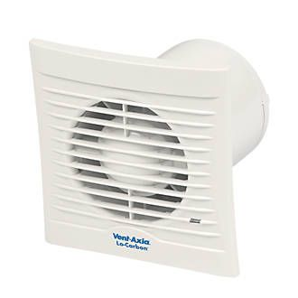 Vent Axia 100t 15w Bathroom Extractor Fan With Timer White 240v Bathroom Extractor Fan Extractor Fans Bathroom Extractor