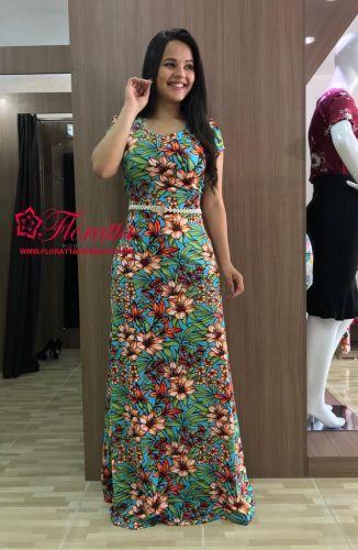 e40c15655f87ab Floratta Modas - Moda Evangélica - A Loja da Mulher Virtuosa | Vestidos  Floreados | Vestidos longos estampados, Vestido longo e Vestidos