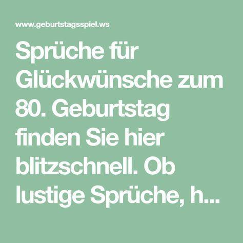 Spruche Fur Gluckwunsche Zum 80 Geburtstag Finden Sie Hier