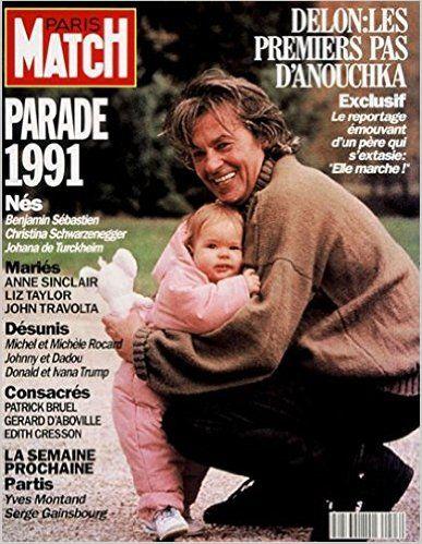 Anouchka Delon et Alain Delon