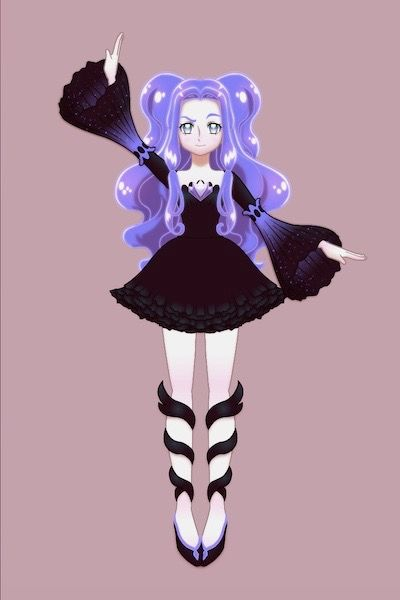 Eris The Magical Girl By 2bluewizards Anime Dress Up Anime Doll Divine Character Design