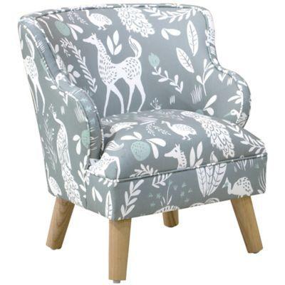 Groovy Skyline Furniture Wesley Kids Arm Chair In Grey In 2019 Machost Co Dining Chair Design Ideas Machostcouk