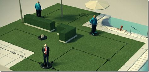 Hitman going mobile, but as a turn based strategy game