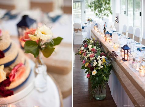 Bluffers Park Restaurant Head Table Scarborough Bluffs Wedding Sweetheartempirephotography Sweetheartempire Blog Images B