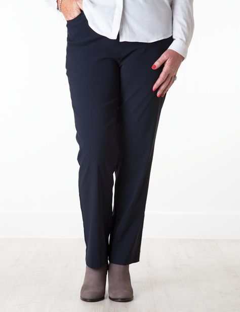 """Ruth+navy,+taupe,+black+or+green+trouser+27""""IL"""