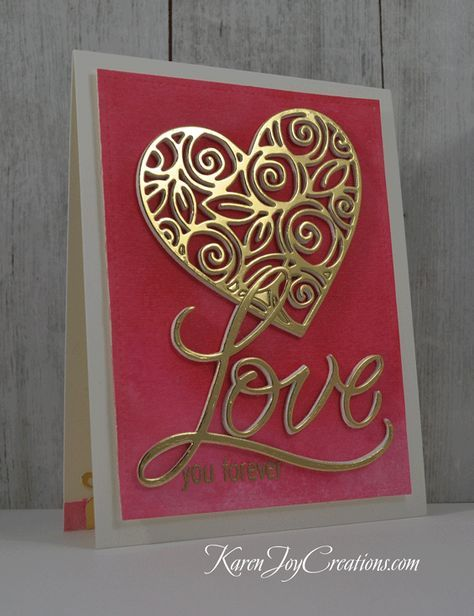 Beautiful Valentine S Day Card With Simon Says Stamp Heart And