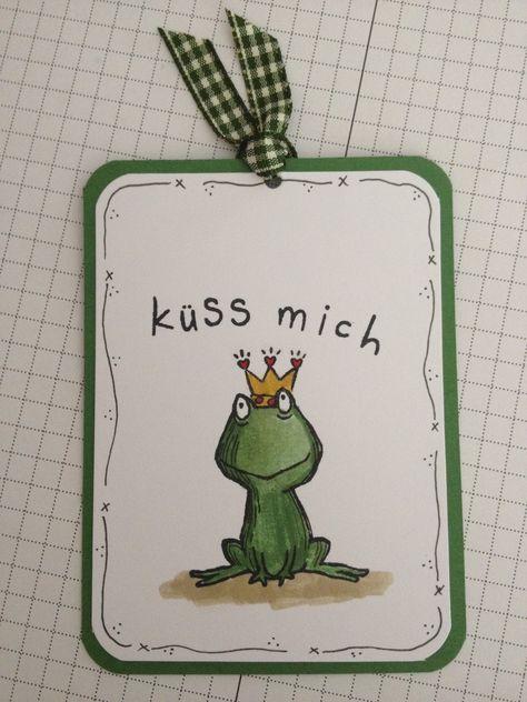 Stempellicht: Küss mich......sagte der Froschkönig....