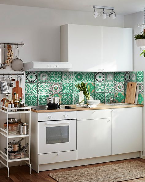 NEW Portuguese tile stickers Home decor Ideas  Tile Sticker Set of 24 Tiles decal mixed Tiles Mexica