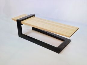 Fulcrum Coffee Table By B R Delaney Wood Coffee Table Coffee Table Wood Coffee Table Design Coffee Table