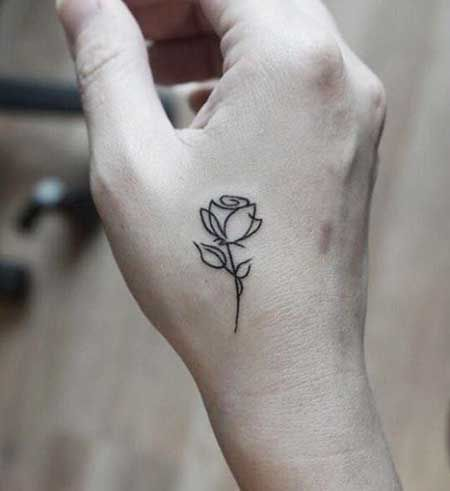 8 Small Tattoos Flower Small Rose Simple Henna Tattoo Stylish Tattoo Pink Tattoo