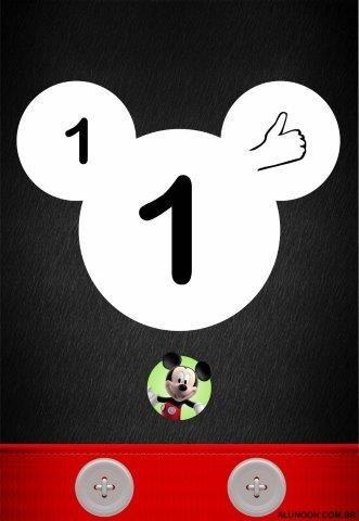 Alfabeto Mickey E Minnie Disney Para Imprimir 4 Letras E Libras