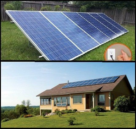 1 5kw Pluggedsolar With 1500watt Crystalline Solar Panels And Micro Grid Tie Inverter Plug Into Wall 120v Best Solar Panels Solar Panels Solar Energy Panels