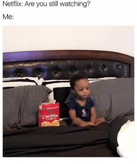 Hilariously Depressing Memes For When Netflix Asks If You're Still ...