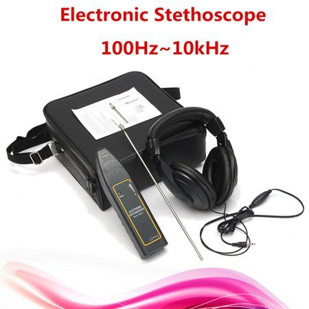 Electronic stethoscope, Water pipes