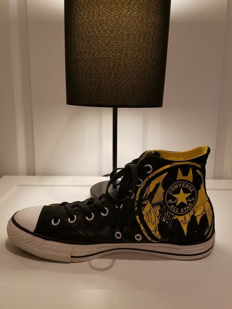 1b1351af3f4a CONVERSE DC COMICS BATMAN CHUCK TAYLOR High Top Sneaker Men s size 12   fashion  clothing