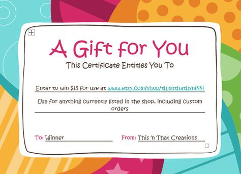 birthday gift certificate template u2026 Gift ideas Pinterest Gift - new microsoft gift certificate template