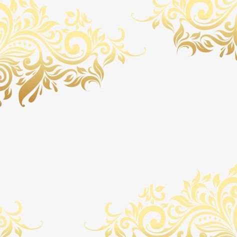 Gold pattern shading PNG and PSD