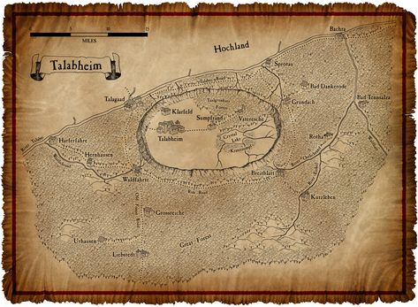 Warhammer Map The Old World Fantasie Karte Fantasie Weltkarte