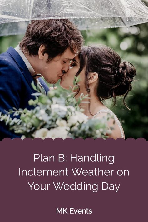 When it rains it pours! Of course, the hope is that it doesn't rain at all on your wedding day. It's always good to have a Plan B just in case. I've got some ideas and tips for you in my new blog post. Check it out by clicking the picture! #outdoorwedding #weddingplanning #weddingblog