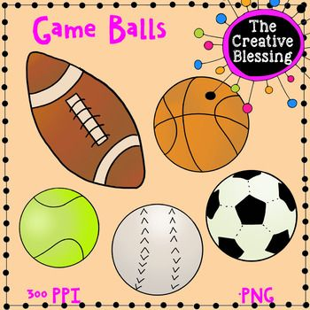 Hand Drawn Sports Game Ball Clip Art Sports Games Ball Clip Art