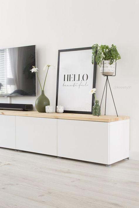 Wohnwand ikea besta  45 Ways To Use IKEA Besta Units In Home Décor | Home Decor ...