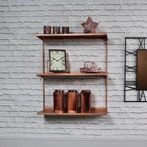 Copper Metal Wall Shelves Metal Wall Shelves Wall Shelves Shelves