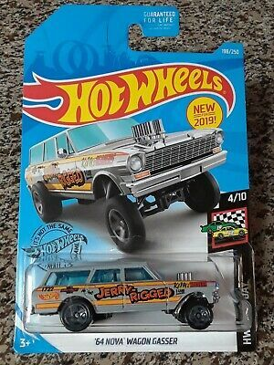 Hot Wheels HW Race Day 2019 /'64 NOVA WAGON GASSER 4//10 198//250