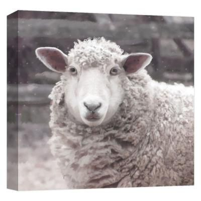 Ptm Images Farmhouse Sheep Iii By Canvas Abstract Wall Art 15 In X 15 In Multicolored In 2020 Abstract Canvas Abstract Wall Art Canvas Prints