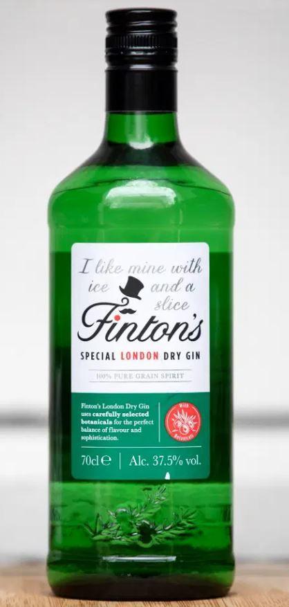Finton S Peach Drinks Dry Gin Apple Drinks