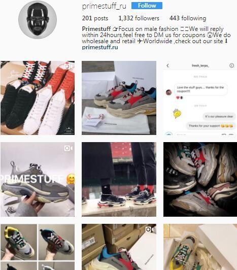 BALENCiAGA Triple S Triple S sneaker nylon leather black