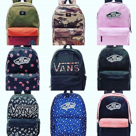 mochilas vans nueva coleccion