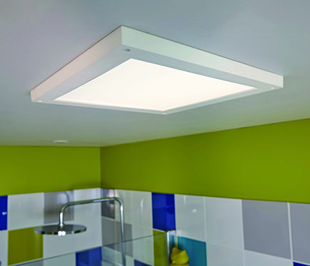 Aplica nova luce grania, negru mat, led, 6.5w, 400 lumeni, alb cald 3000k, 9818513. Pin Su Small Bathrooms