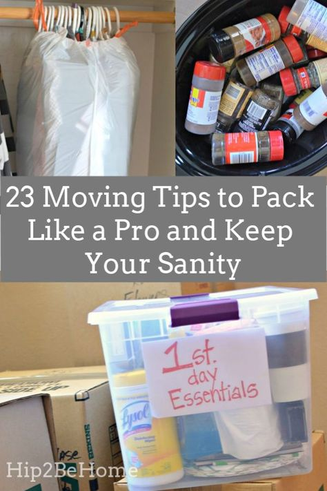 Pack Like a Pro: 23 Moving Tips to Keep Your Sanity (And Stuff) Intact tips for teens tips in tamil tips tricks for face for hair for makeup for skin Moving House Tips, Moving Home, Moving Day, Budget Moving, Moving List, Packing Tips For Vacation, Packing To Move, Packing Tips For Moving, Packing Hacks