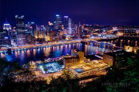 Pittsburg, Pennsylvania Skyline #Pittsburg #PA #bravofrancoristorante #italian #wineanddine #food #authentic