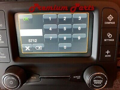 Details About Dodge Ram Ra2 Vp2 5 Inch Uconnect Radio Touchscreen