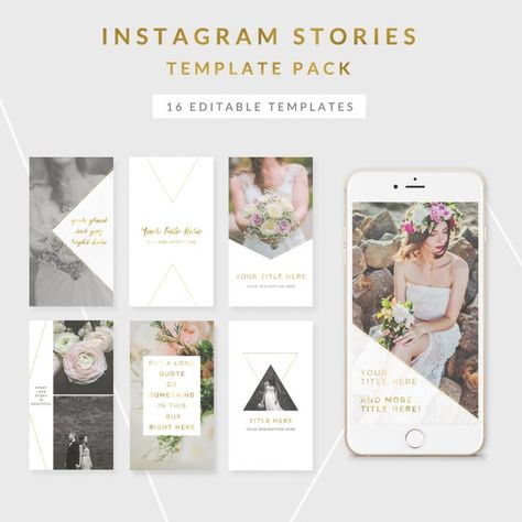 Instagram Story Templates - Eden Collection
