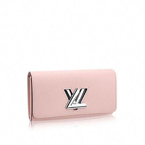 e5f95edf76fc Louis Vuitton Rose Ballerine Epi Twist Wallet  Louisvuittonhandbags ...