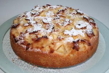 Apfel Marzipan Kuchen Rezept Apfel Marzipan Kuchen Kuchen Rezepte Kuchen