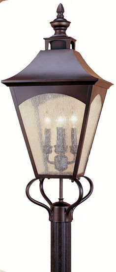 Feiss OL1008 ORB Homestead 4 light 31 inch Exterior Post