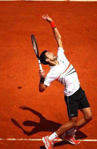 Novak Djokovic In Semis Rg 2019 Dominic Thiem Nole Tennis Outfit Tennis Court Photo Shoot Head Graphene Racket In 2020 Novak Djokovic Tennis Techniques Tennis World