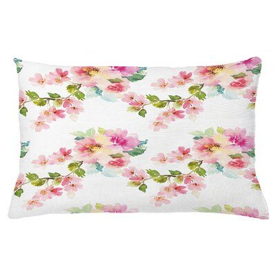 Lumbar Toddler Pillow Cover 12x16 inch