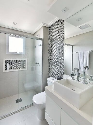 Sanca banheiro pequeno