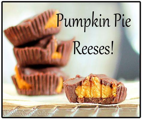 Pumpkin Pie Peanut Butter Cups