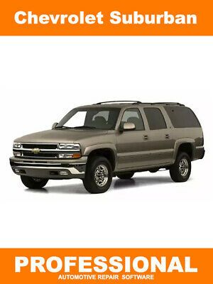 Advertisement Ebay Chevy Chevrolet Suburban Repair Manual Service Software 2000 2001 2002 Chevrolet Suburban Chevy Chevrolet Chevrolet
