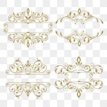 Frame Fotografia A Representacao Black Background Ornament Frame Gold Clipart Gold Frame