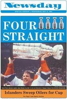 New York Islanders Stanley Cup Dynasty #ny #newyork #nyislanders #stanleycup #dynasty #hockey #nhl #newsday