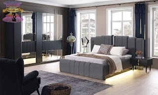 صور اوض نوم خشب باحدث موديلات غرف النوم 2021 Bedroom Furniture Design Home Room Design Bedroom Closet Design