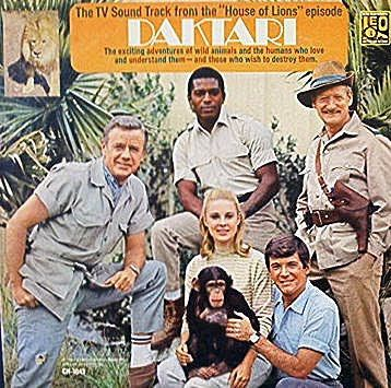 Daktari-Clarence the Cross-eyed Lion. A other 1960s Saturday TV series.