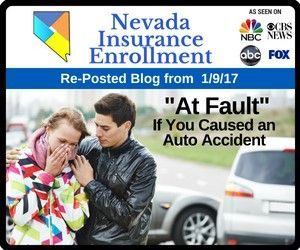 At Fault If You Caused An Auto Accident Car Insurance Nevada